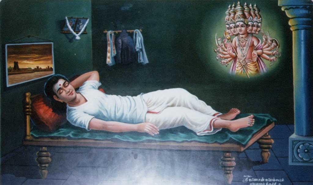 Murugan in dream