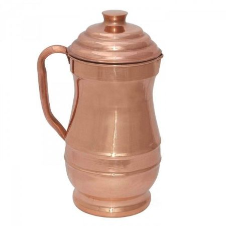Copper Maharaj Jug