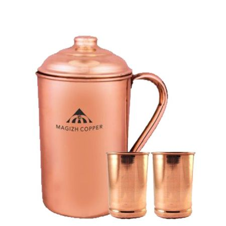 Copper Plain Jug Combo