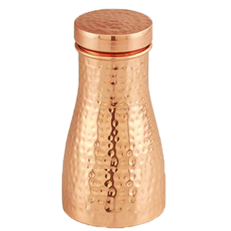 Hammered Copper Bedroom Jar 1ltr