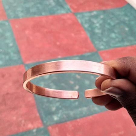 Plain Copper Bracelet