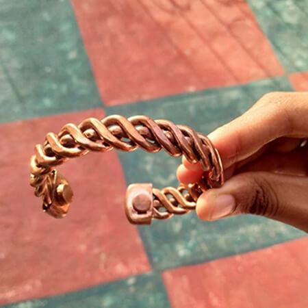 Copper Bracelet Style #1