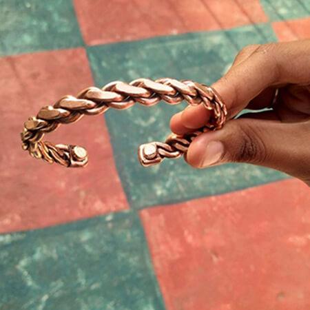 Copper Bracelet Style #3