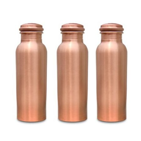 Copper Bottle 700ml Combo