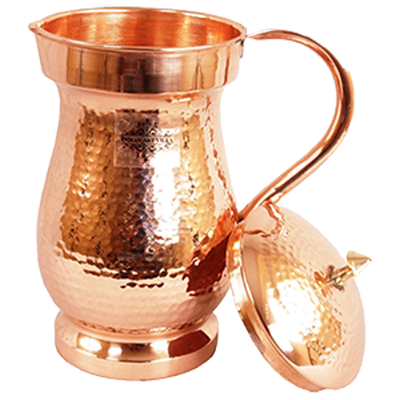 Royal Hammered Copper Jug