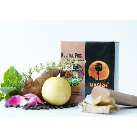 Organic ''Herbal bath powder'' Soap