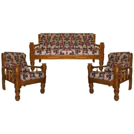 Premium Teak Wood Sofa Set